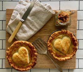 Mandy Hall Mushroom Pie