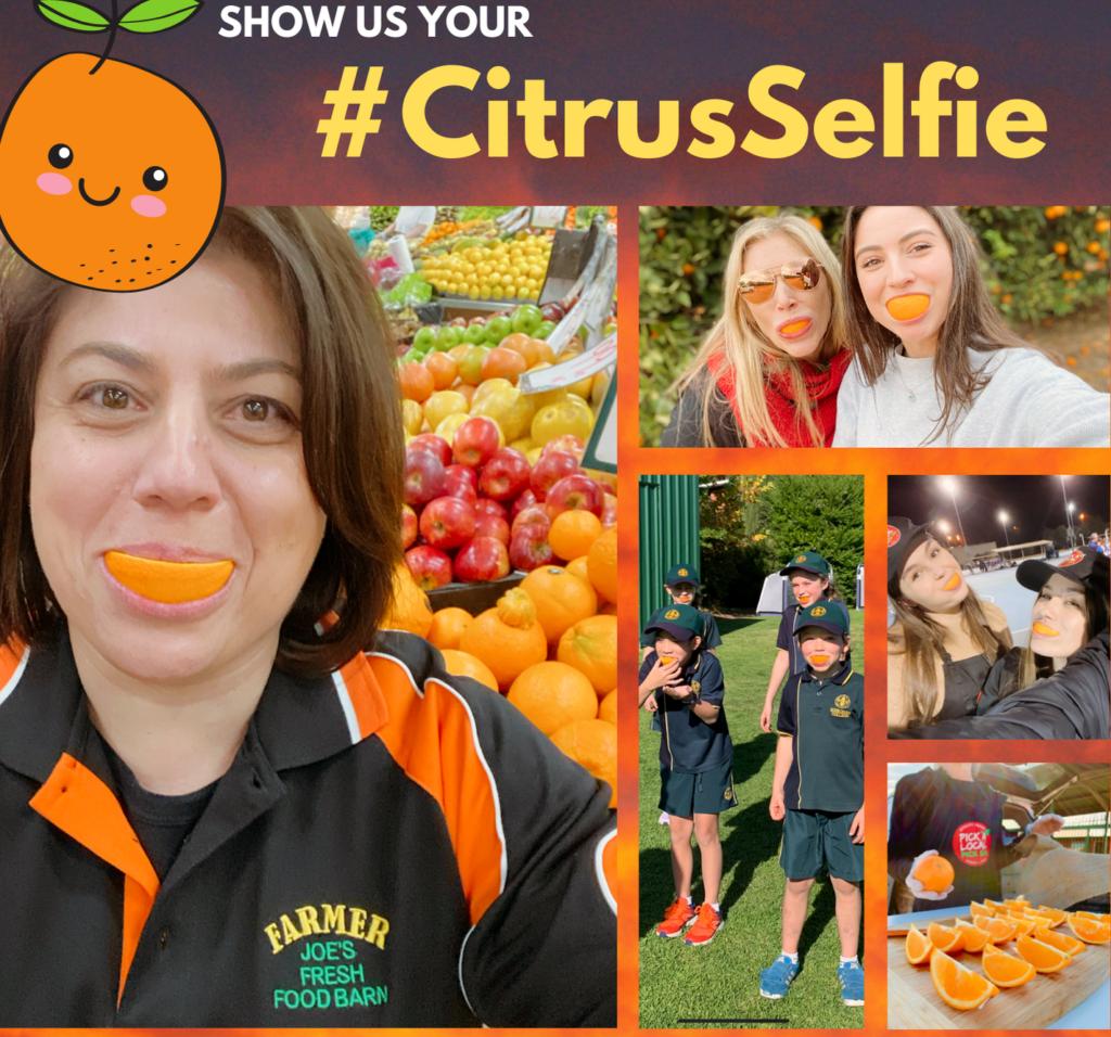 #CitrusSelfie