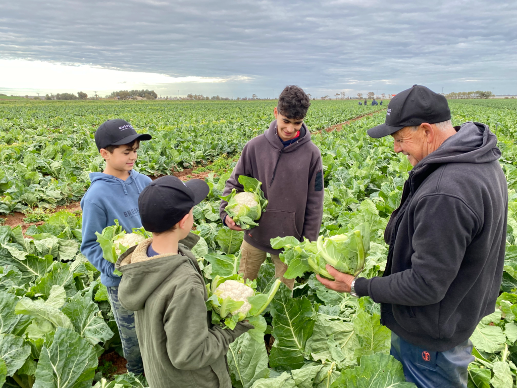 Musolino Farms with the next Generation
